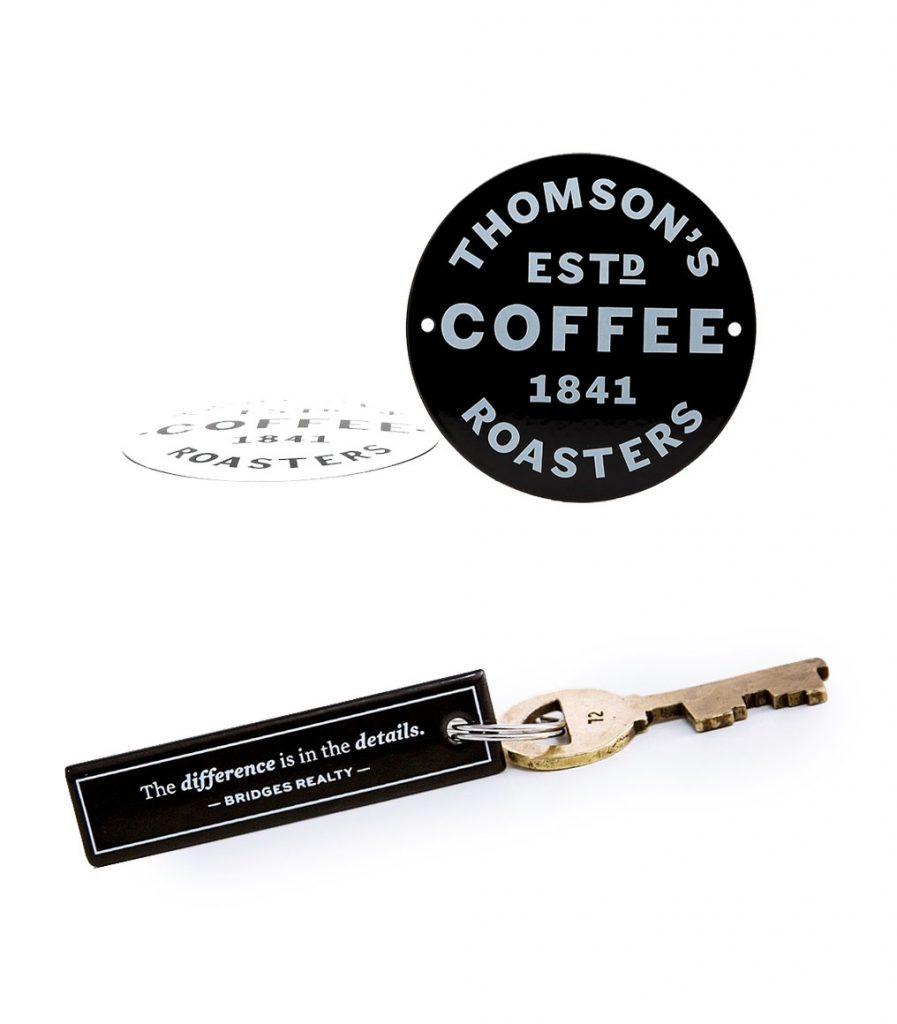 custom enamel keyring