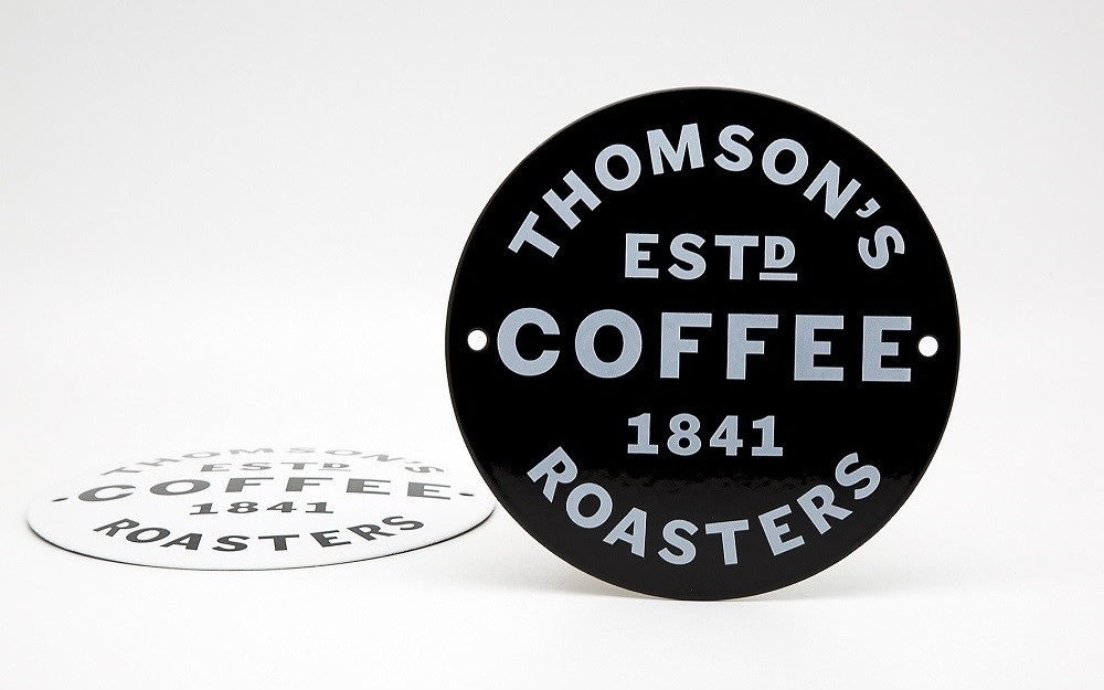 Thomsons-Coffee-Enamel-Sign-15-cm-Back-02