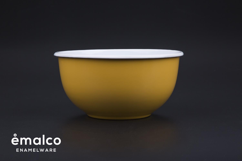 KEN FULK - 18 cm mixing bowl - apricot (1)