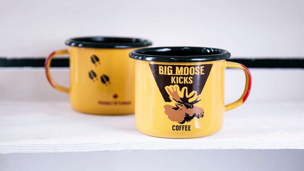 enamel custom mugs