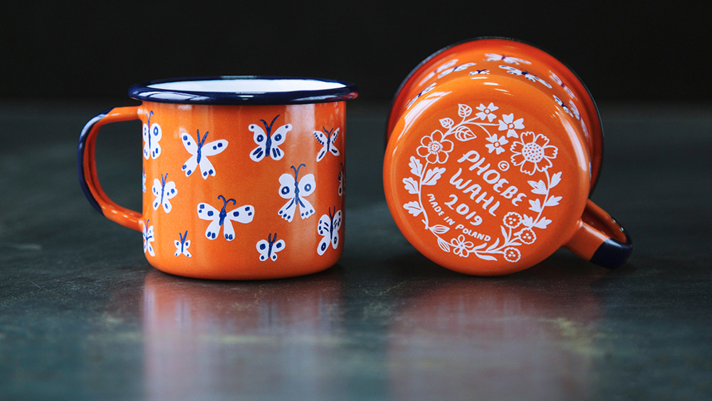 enamelware mugs