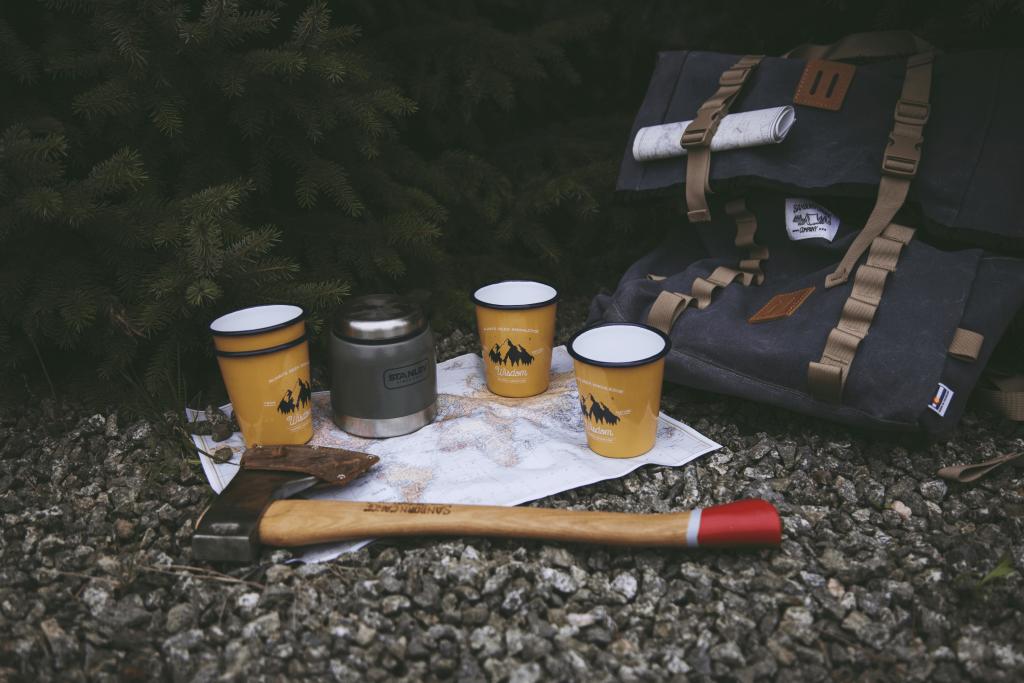 Camp enamelware