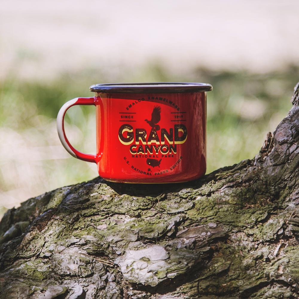 enamel mug Grand Canyon